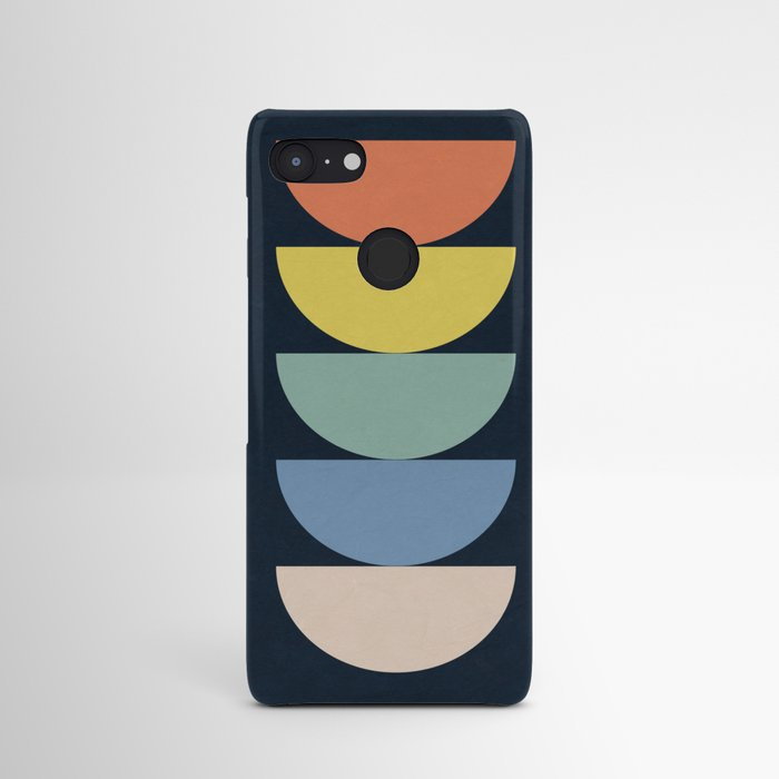 Abstract Flower Palettes Android Case