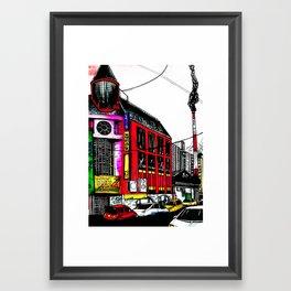 Downtown Masan Framed Art Print