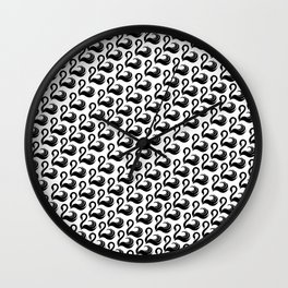 The Sign of the Swan Wall Clock
