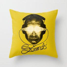 Sounds Throw Pillow