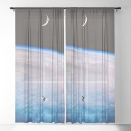 Simple Solitude Sheer Curtain
