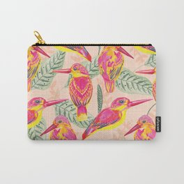 PINK BIRDS Carry-All Pouch