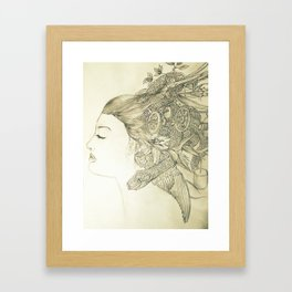 Cerebral Creativity Framed Art Print