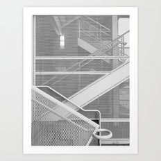 Handrail Art Print