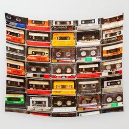 Something Nostalgic V - Music - Global Language #decor #society6 #buyart Wall Tapestry