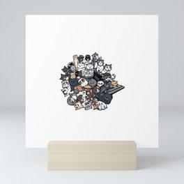 Inspired by Katamari Damacy Mini Art Print
