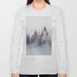 Winter Wonderland - Stormy weather Long Sleeve T-shirt