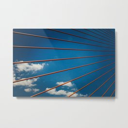 Bridge in Da Nang Metal Print