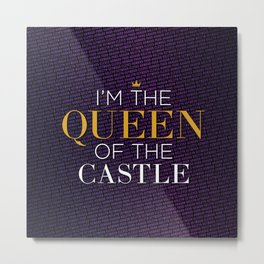 Queen of the Castle – Six the Musical Metal Print