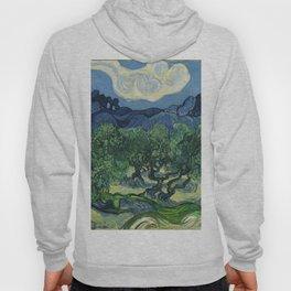 Olive Trees by Vincent van Gogh Hoody