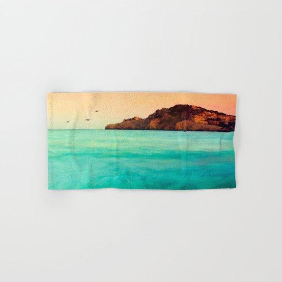 Glowing Mediterranean  Hand & Bath Towel