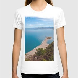 White Lagoon of Tindari on the Isle of Sicily T-shirt