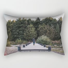 Patagonian forest Rectangular Pillow