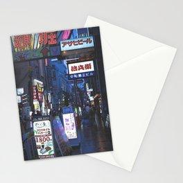 Neon Dotonbori Stationery Cards