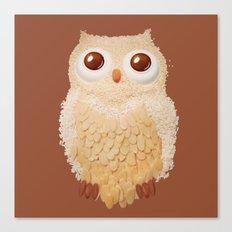 Owlmond 1 Canvas Print