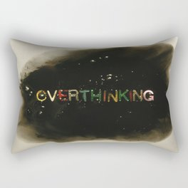 drowning in thoughts - Rectangular Pillow