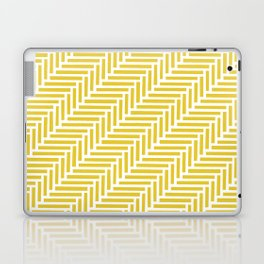 Herringbone 45 Yellow Laptop & iPad Skin