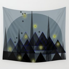 City landscape Wall Tapestry