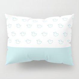 Ducklings Mint Pillow Sham