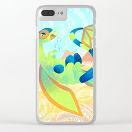 Shiny Flygon Clear iPhone Case