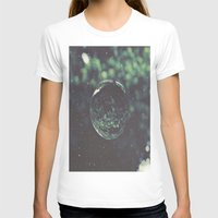 globe T-shirts featuring Snow Globe by Jane Lacey Smith