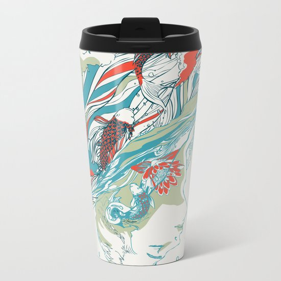 Colours In The Sky Metal Travel Mug