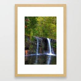 Wolf Creek Falls Framed Art Print