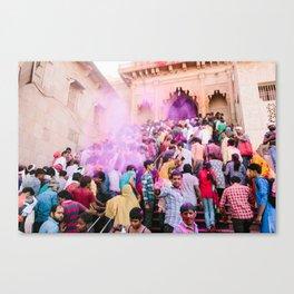 INDIA 44 Canvas Print