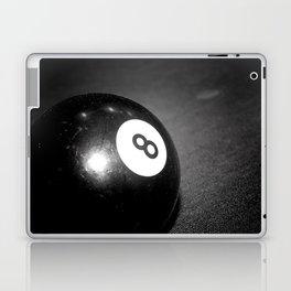 Eight Ball-Black Laptop & iPad Skin