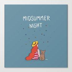 A MIDSUMMER NIGHT Canvas Print