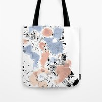 san francisco map Tote Bags featuring San Francisco Crime Map by ARTITECTURE