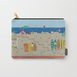 Afternoon at the sea Carry-All Pouch