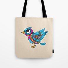 Mechanical Bird Tote Bag