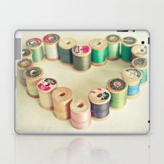 I Heart Sewing Laptop & iPad Skin