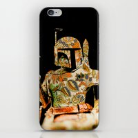 boba iPhone & iPod Skins featuring Boba by Robotic Ewe