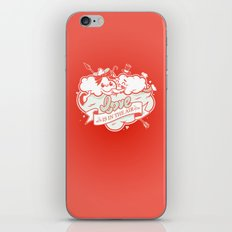 Love is in the air iPhone & iPod Skin