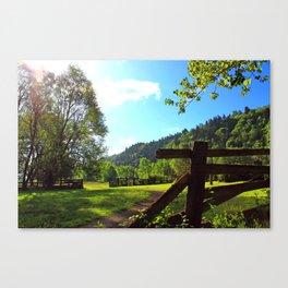 Sandy River Delta Park - Spring Canvas Print