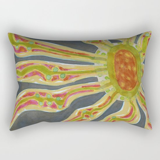 Flowing Lifeforce Rectangular Pillow