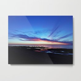 Sunset on the Mighty Saint-Lawrence Metal Print