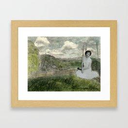 Boli in the Yard Framed Art Print