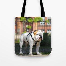 No Entry - Bulldog #decor #homedecor Tote Bag