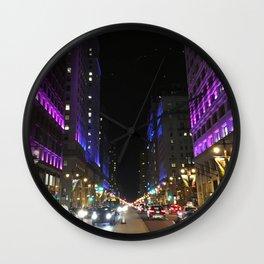 Infinite Broad St. Wall Clock