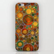 Abstract Circles Pattern 2 iPhone & iPod Skin