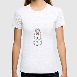 alpaca yoga LLama Camel Gift Present T-shirt