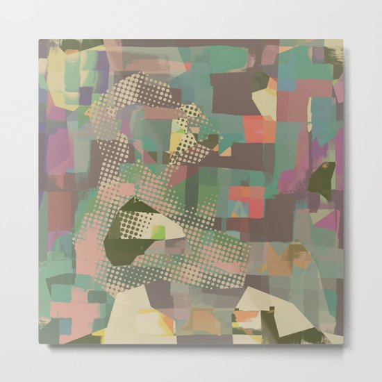 Abstract Painting No. 11 Metal Print