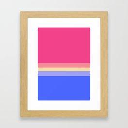 Summer Ice Cream - Favourite Palettes Series Framed Art Print