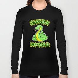 Danger Noodle for Snake Lovers Long Sleeve T-shirt