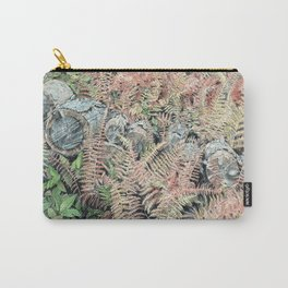 Colored ferns. Carry-All Pouch