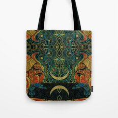 They Who Drink Chaos Tote Bag