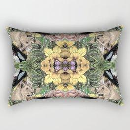Wildlife Kaleidoscope Rectangular Pillow